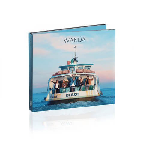 Ciao! (Ltd. Deluxe Edition) von Wanda - CD Digipack jetzt im Wanda Shop