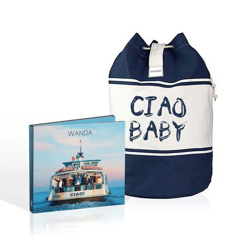 √Ciao! (Deluxe CD + Seesack - limitierte Auflage) von Wanda - CD Bundle jetzt im Wanda Shop