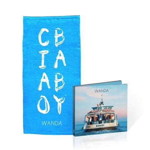 Ciao! (Deluxe CD + Duschtuch - limitierte Auflage) von Wanda - CD Bundle jetzt im Wanda Shop
